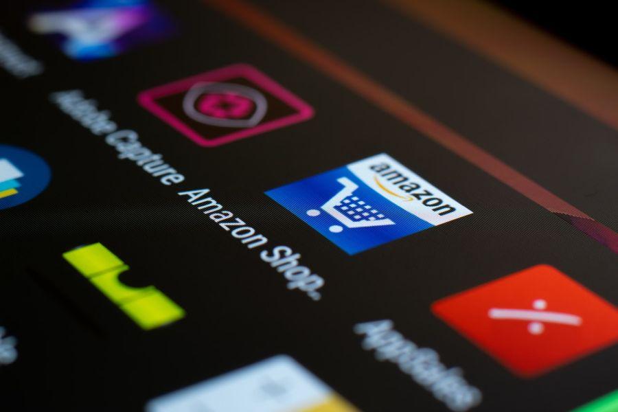 Amazon web shop mobile app