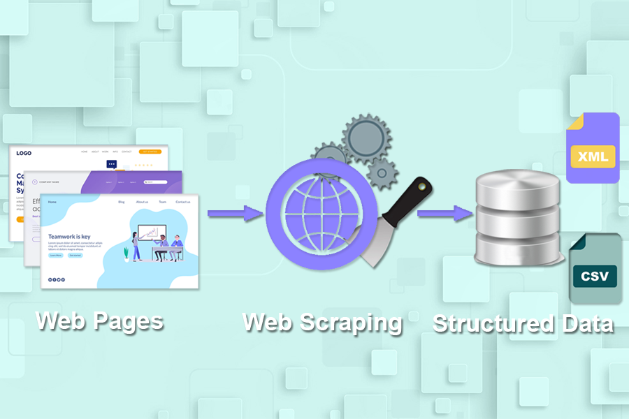Amazon web scraping for structured data